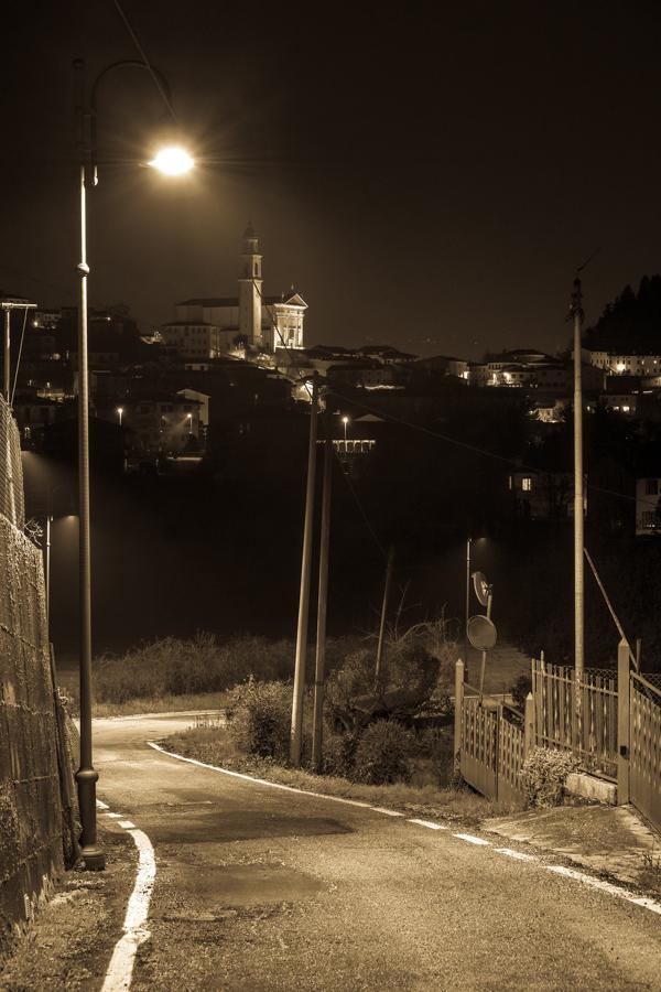 La magia di uno scatto serale