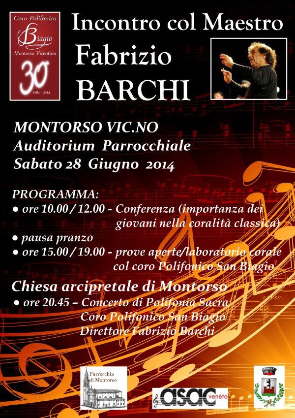 Quarto appuntamento per il trentennale del Coro S. Biagio