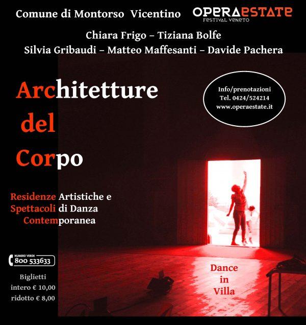 Danza in villa, con OperaEstate Festival