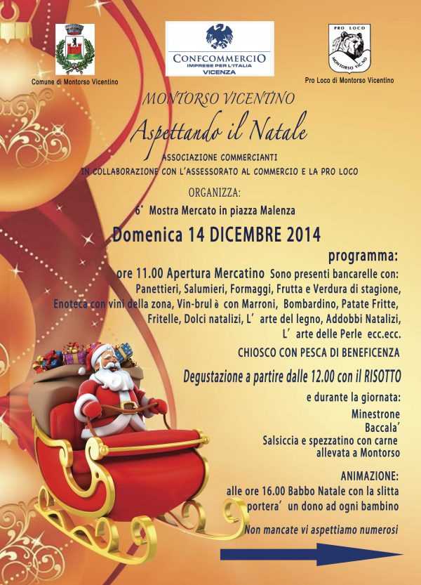 Si avvicinano i mercatini di Natale 2014