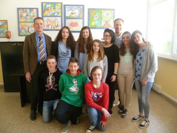 Studenti in partenza per Bruxelles, l'augurio del Sindaco