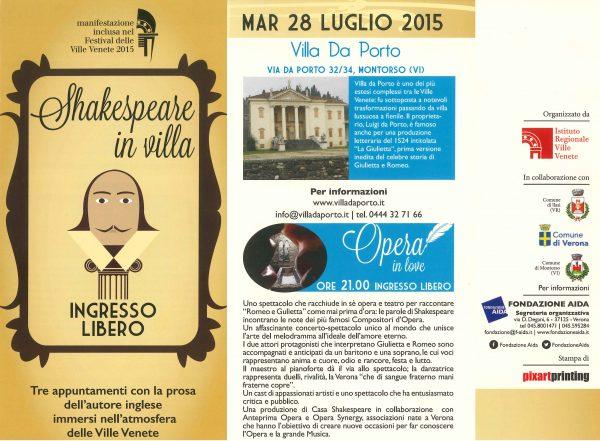 Opera in Love, Giulietta e Romeo raccontati come mai prima d'ora
