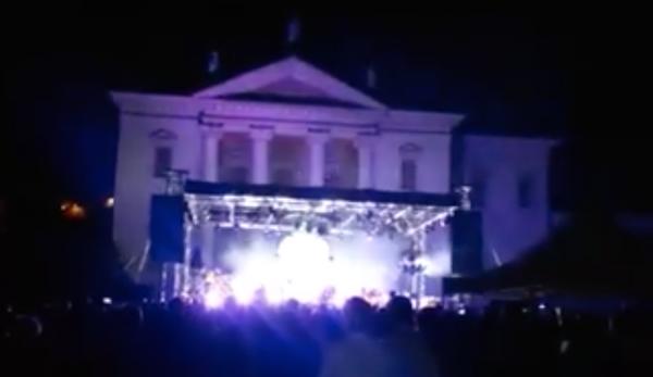 Grande spettacolo con i Wit Matrix in Villa Da Porto