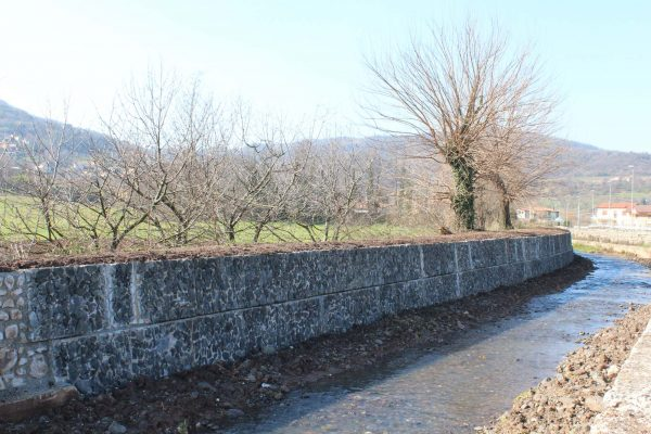 Ultimati i lavori lungo il Rio Rodegotto