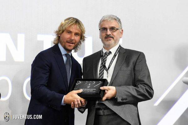 Lo Juventus Club di Montorso premiato per il suo impegno sociale