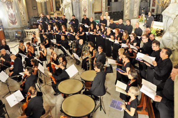 """Il Coro Polifonico San Biagio al """"XIX Festival Organistico Internazionale"""" in Liguria"""