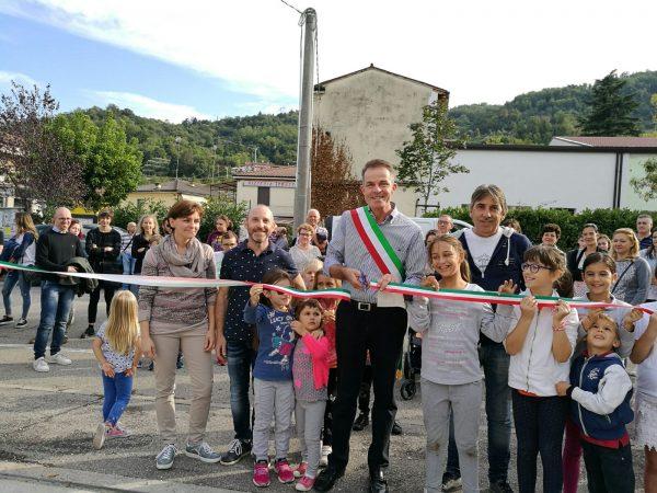 Inaugurato il rinnovato parco giochi di Ponte Cocco