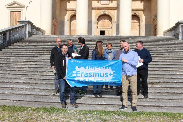 Erasmus e Università Adulti Anziani in visita a Villa Da Porto