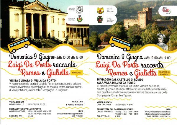 In viaggio tra Montorso e Montecchio Maggiore alla scoperta della storia di Luigi Da Porto