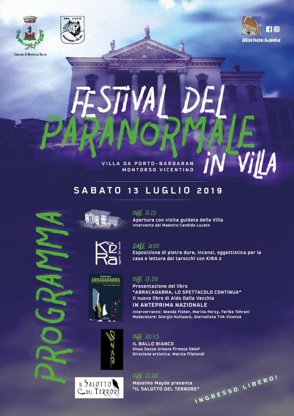 Festival del Paranormale, il programma completo