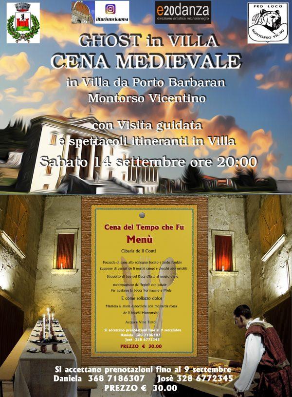 Torna la cena medievale in Villa