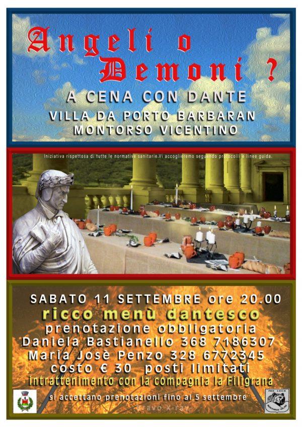 """""""Angeli o demoni"""", a cena con Dante"""