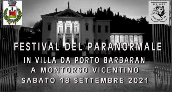 Festival del paranormale con Diego Dalla Palma e molto altro