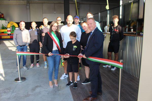 Fenomeno padel, inaugurato a Montorso un nuovo impianto indoor